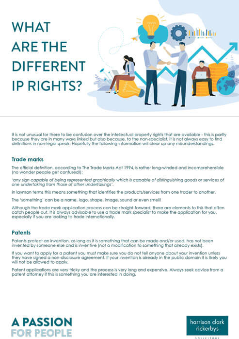 Different IP rights